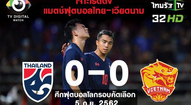 เจาะลึกเรตติ้ง ผู้ชมบอลไทย-เวียดนาม คนดูคือกลุ่มไหน